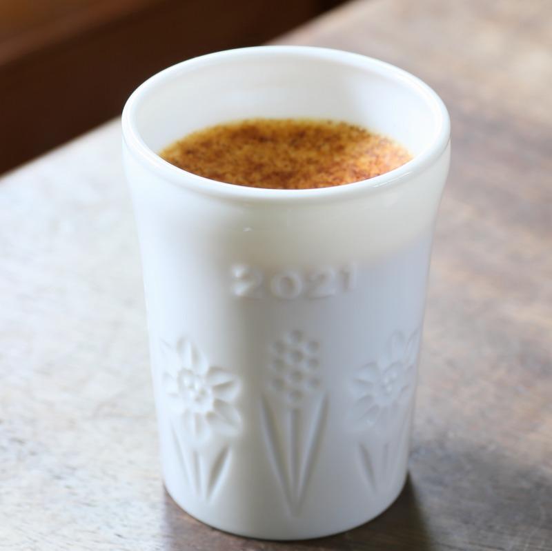 2021年陶器(白)フレッシュクリームプリン