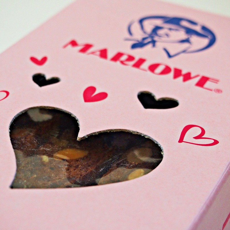 ハートBox(ピンク)チョコレートビスコッティ