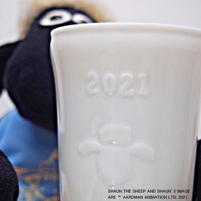 2021年 ひつじのショーン陶器プリン
