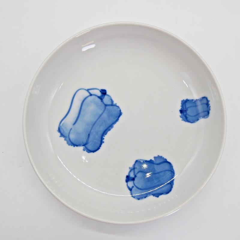 野菜の手描きの絵皿【14】