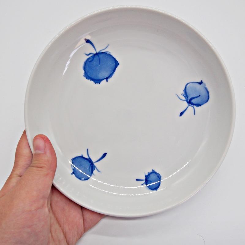 野菜の手描きの絵皿【15】