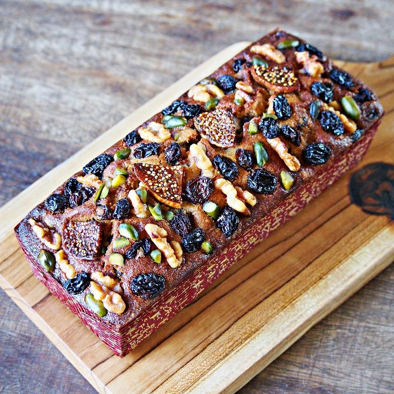 ラム・ミックスパウンドケーキ