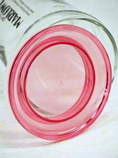 ビーカー用のふた・ピンク