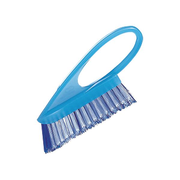 掃除の達人 グリップタイル目地洗い (ブルー) W253B