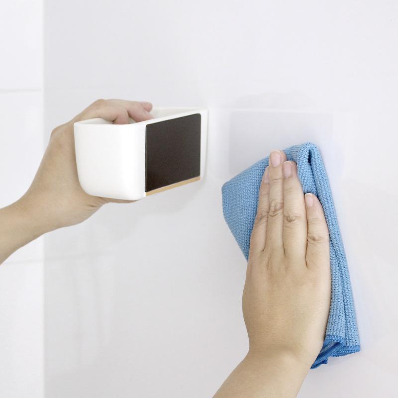 マグネット浴室小物入れ (ホワイト) W618W