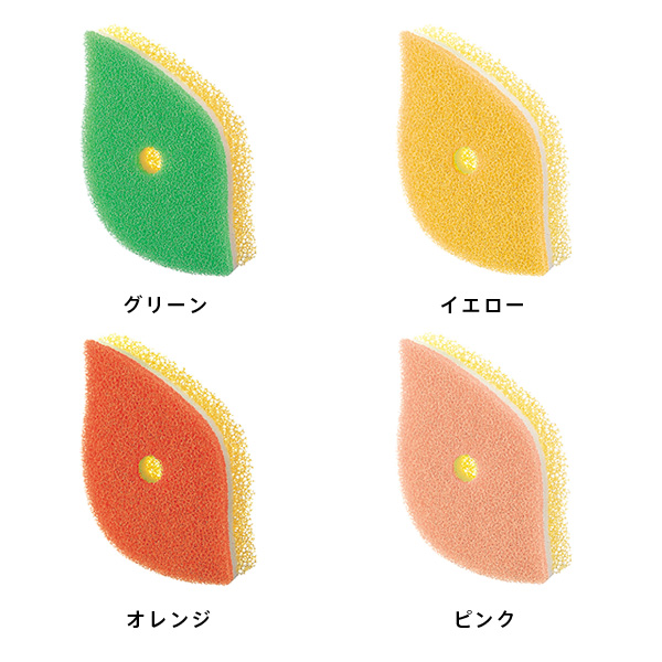 POCO 葉っぱ型スポンジ K614