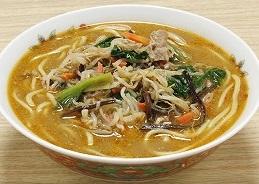 レンジで簡単!野菜たっぷり坦々麺 10食【送料無料(一部地域を除く)】