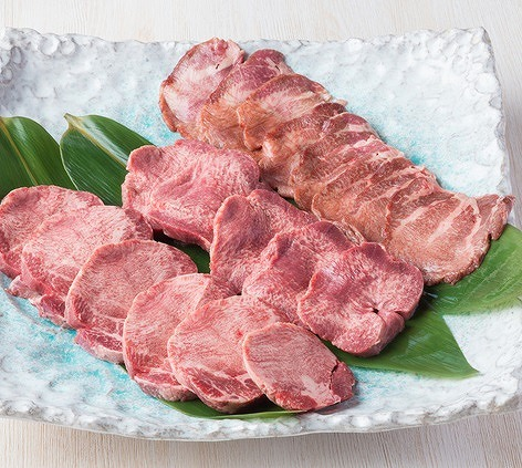 仔牛の厚切り牛タン(成型肉) 500g【送料無料(北海道・沖縄・離島不可)】