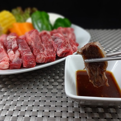 「九州産」黒毛和牛バラ焼肉用 300g【送料無料(一部地域を除く)】