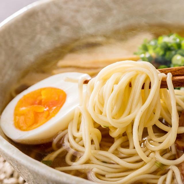 「江崎製麺」うまかラーメン九州味! 福島ラーメン(しょうゆ味)2食+スープ付【送料無料】