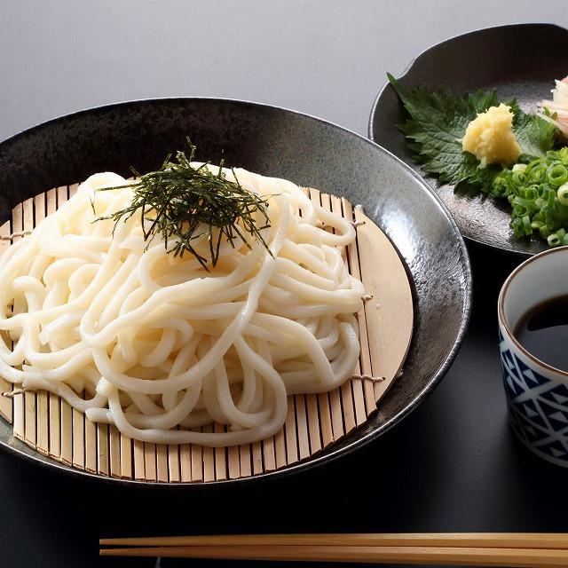 本場博多うどん「あごだしスープ付」半生麺うどん(2食)【送料無料】