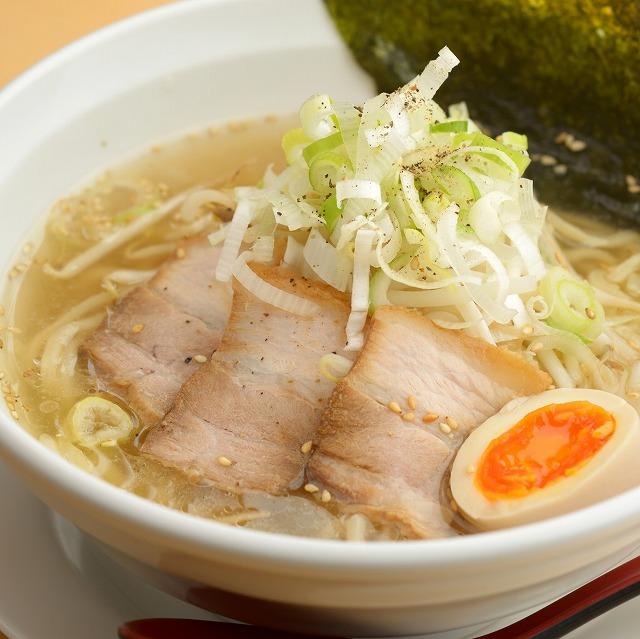 「野菜スープ(塩味)付」半生麺ラーメン(2食)【送料無料】
