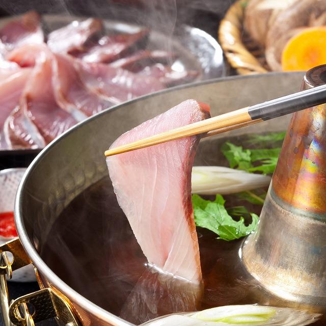 旬の天然ぶりしゃぶ鍋【送料込み】