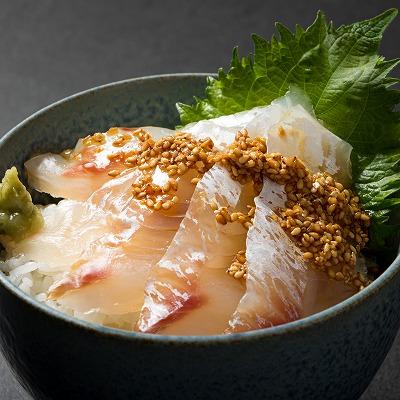 九州産 天然真鯛の海鮮丼 4人前 【送料無料】