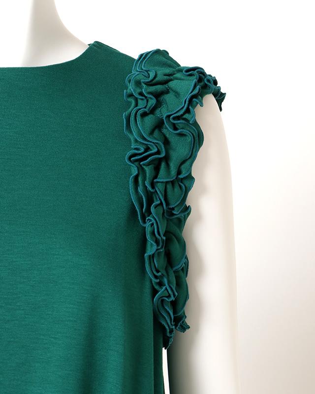 shoulder frills onepiece(green)