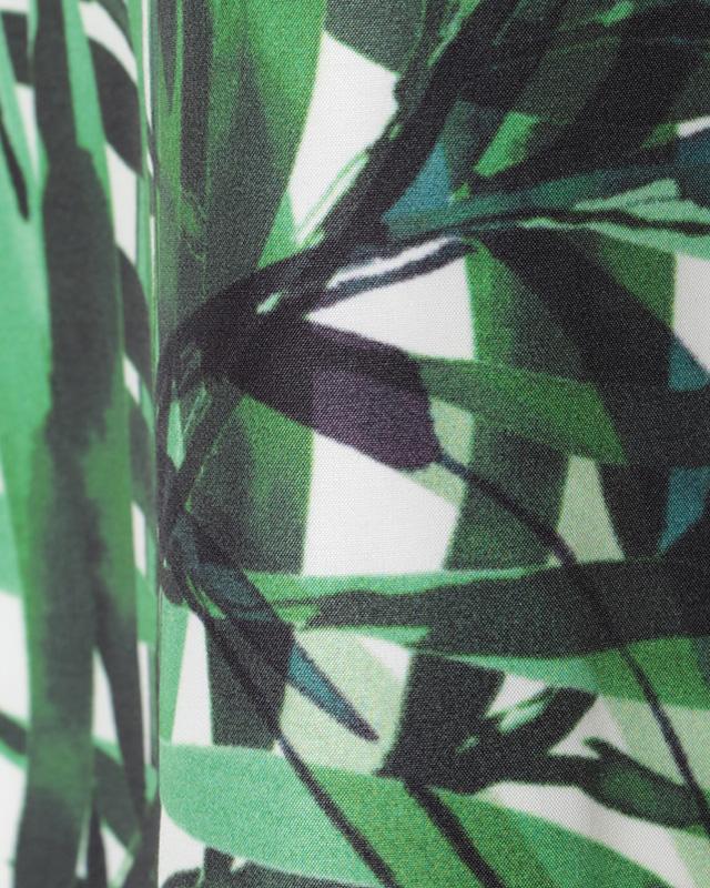 leaf pattern midi onepiece