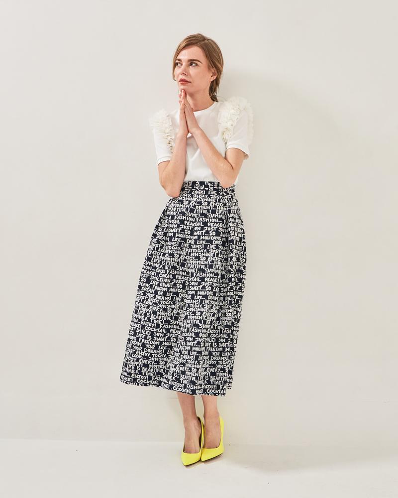 AWアルファプリントスカート