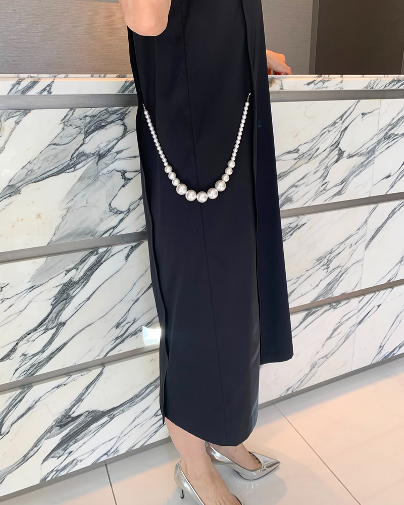 【final mark down sale 50%OFF】pearl chain onepiece