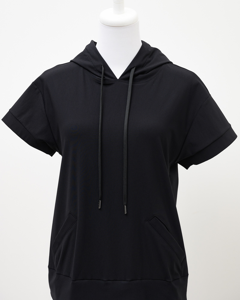 hoodie taffeta onepiece