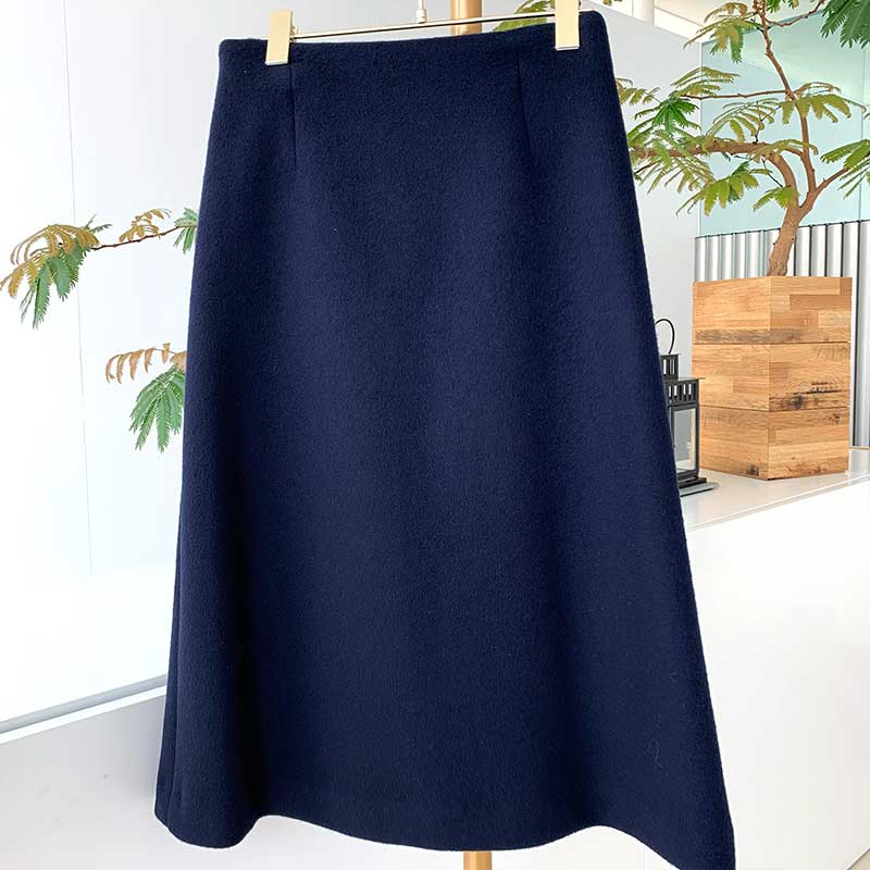 【final mark down sale50%OFF】AWウールカラースカート