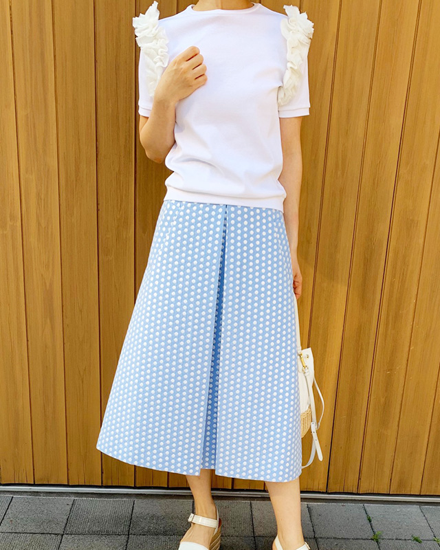 【final mark down sale50%OFF】glitter dot skirt