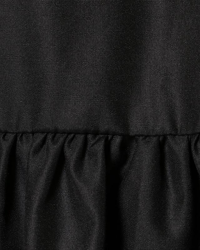 sleeveless gathered maxi onepiece(black)