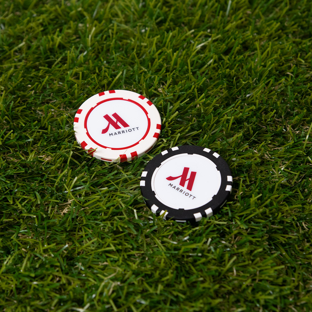 MARRIOTT ゴルフマーカー2個セット