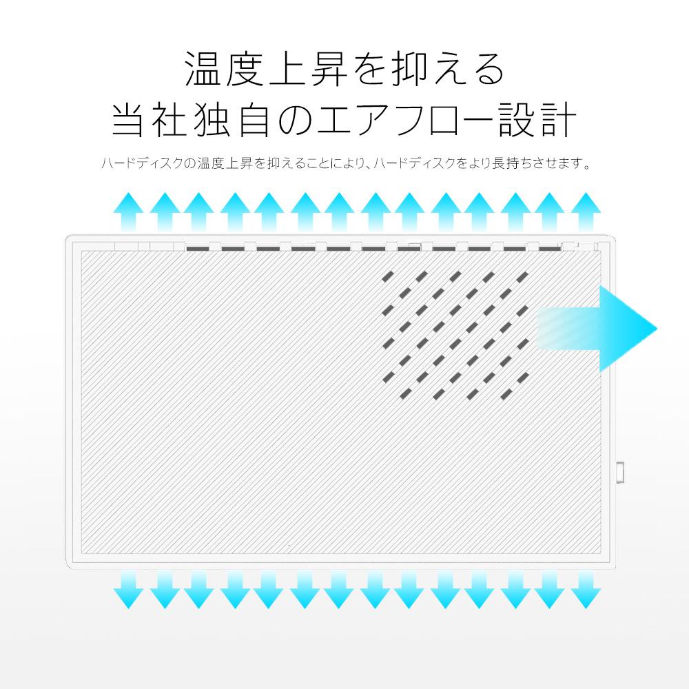 白 外付けHDD 外付けハードディスク 8TB MAL38000EX3-WH Windows10対応 TV録画 REGZA USB3.0 データリカバリー3年保証付き MARSHAL