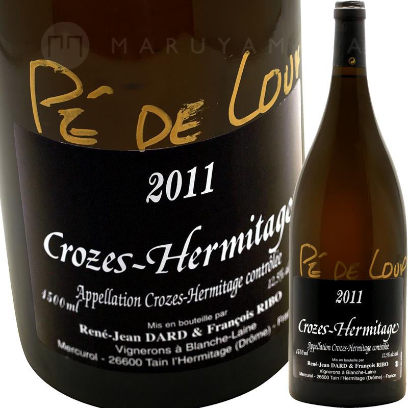 クローズ・エルミタージュ・ブラン ペ・ド・ルー 1,500ml(マグナム) [2011] ダール・エ・リボ  Dard & Ribo  Crozes Hermitage Blanc Pe de Loup 1.5L Magnum
