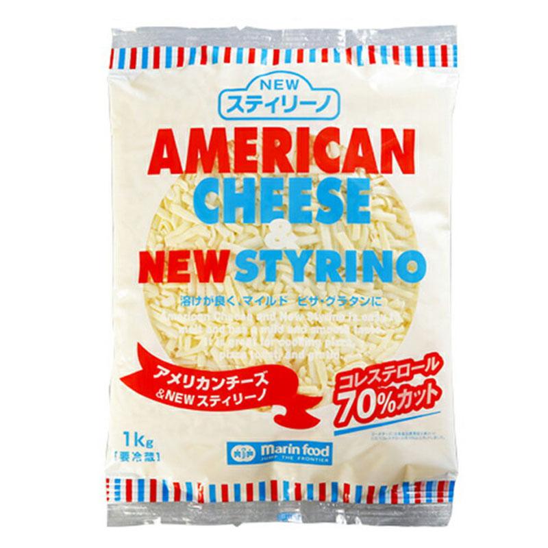 マリンフード アメリカンチーズ NEWスティリーノシュレッド 1kg(冷蔵)