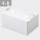 パッケージ中澤 OPL-ホワイト 4×6(120×180×90mm) 50枚