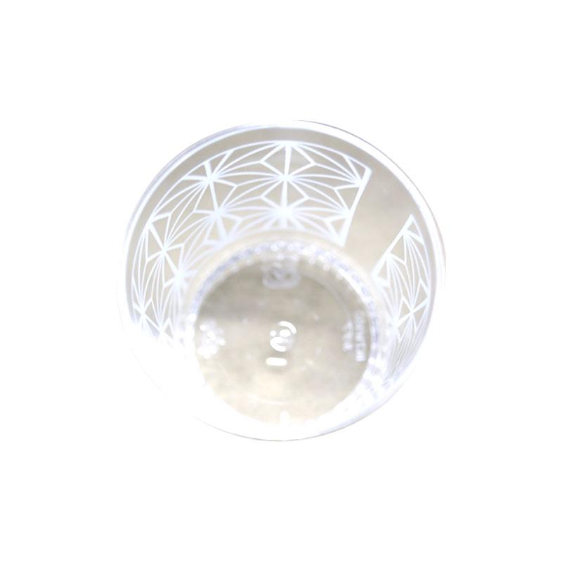 伊藤景 IK71φ160 ルチア 麻の葉 PS チルドカップ 口径71×高73mm 25個(常温)