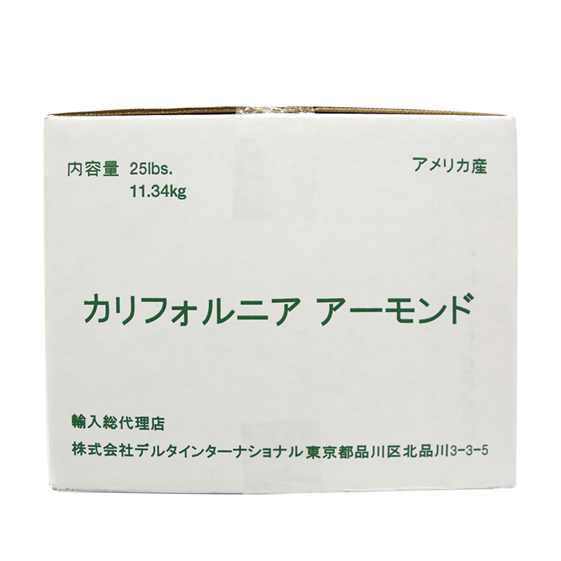 キャンポス アメリカ産 アーモンドスライス 0.8mm 11.34kg(常温)