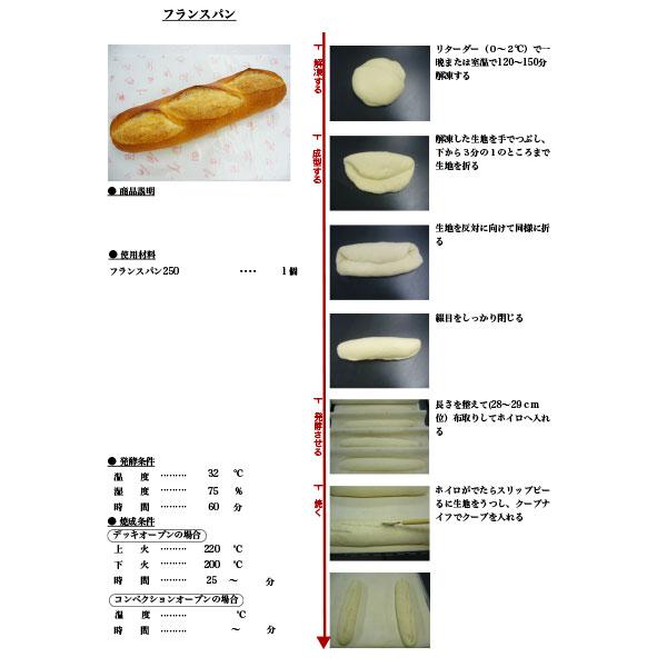 イズム 冷凍パン生地 フランスパン / 45g×100個