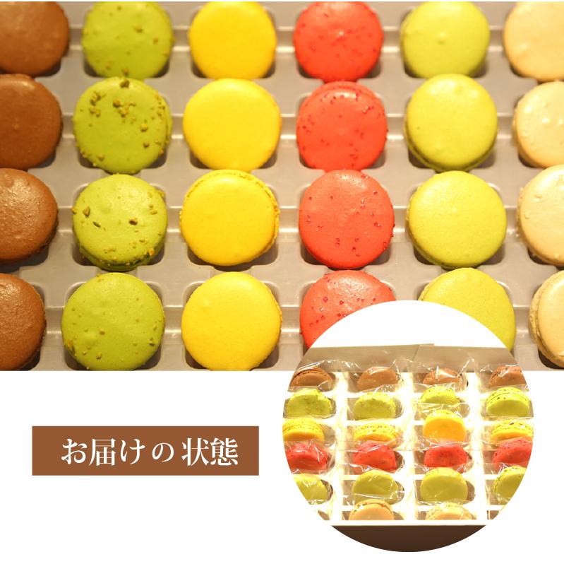 お試しマカロンセット 24個セット(6種類×4個) (冷凍)