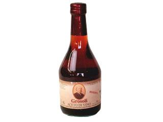 アドリアーノ グロソリ社 ワインビネガー赤 リゼルヴァ 500ml (常温)