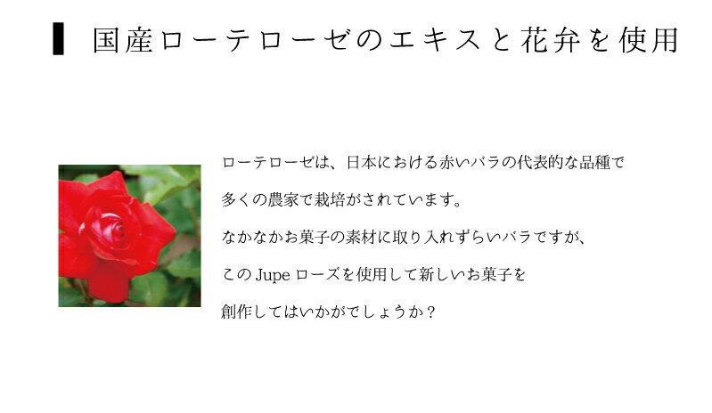 (お取り寄せ商品)ナリヅカ JUPE (ジュペ) 濃縮ペースト ローズ 1kg 薔薇 (常温)