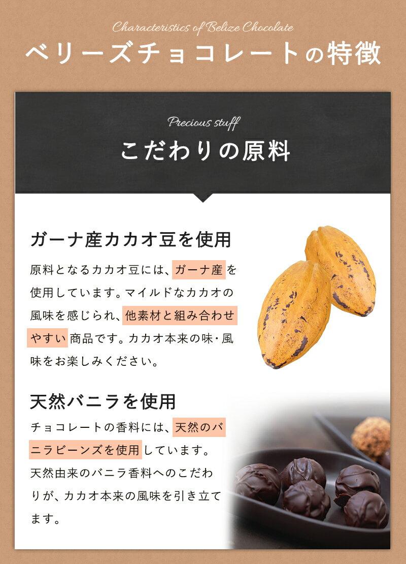 ベリーズ ダークチョコレート 52% 200g