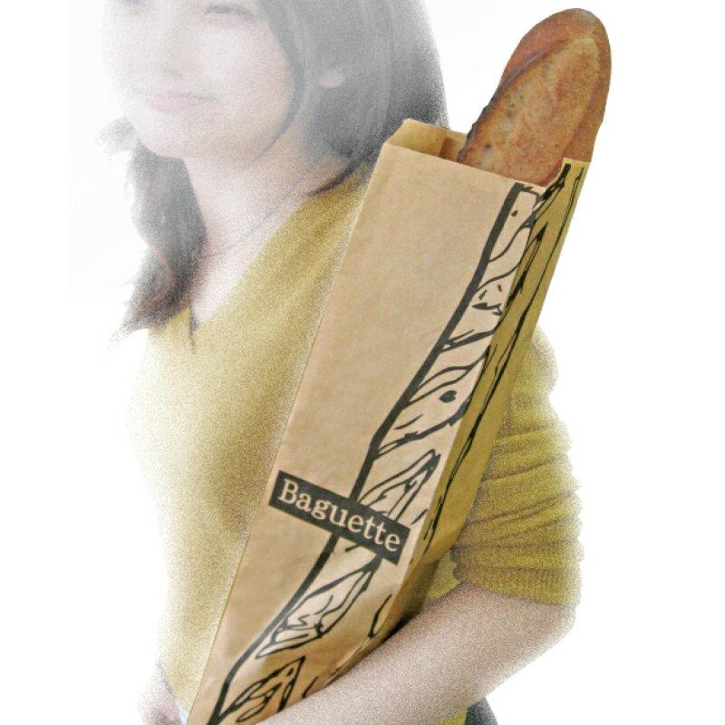 (PB)丸菱 フランスパン袋 563×100×70mm 100枚(常温)