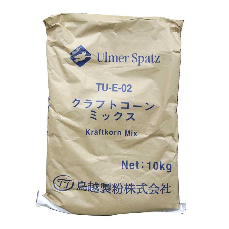 鳥越 TU-E02 クラフトコーンミックス ミックス粉 10kg(常温)