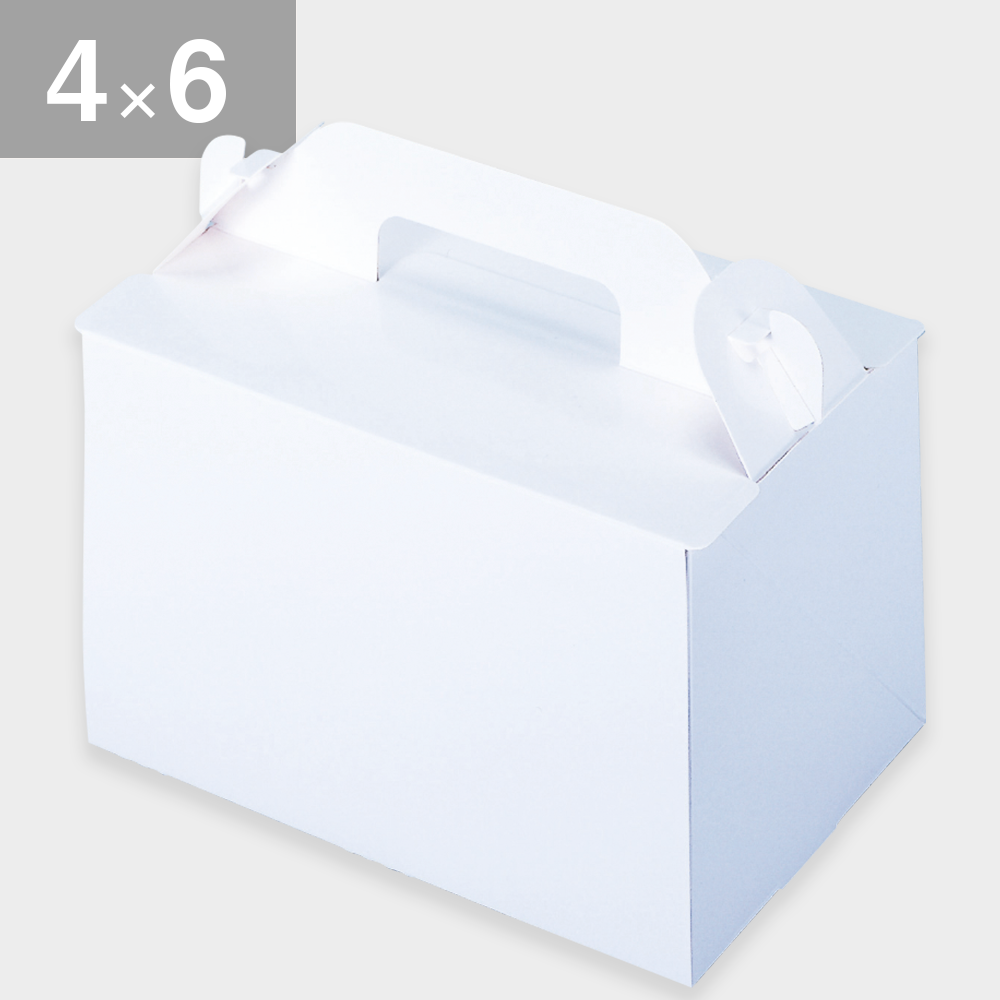 パッケージ中澤 105OPL-ホワイト 4×6(120×180×105mm) 50枚