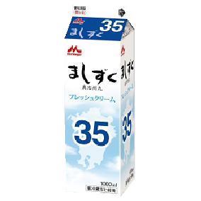 森永乳業 フレッシュクリーム ましずく35 1000ml