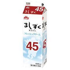森永乳業 フレッシュクリーム ましずく45 1000ml