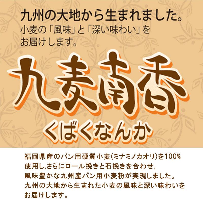 九州産パン用強力粉 九麦南香 / 2KG