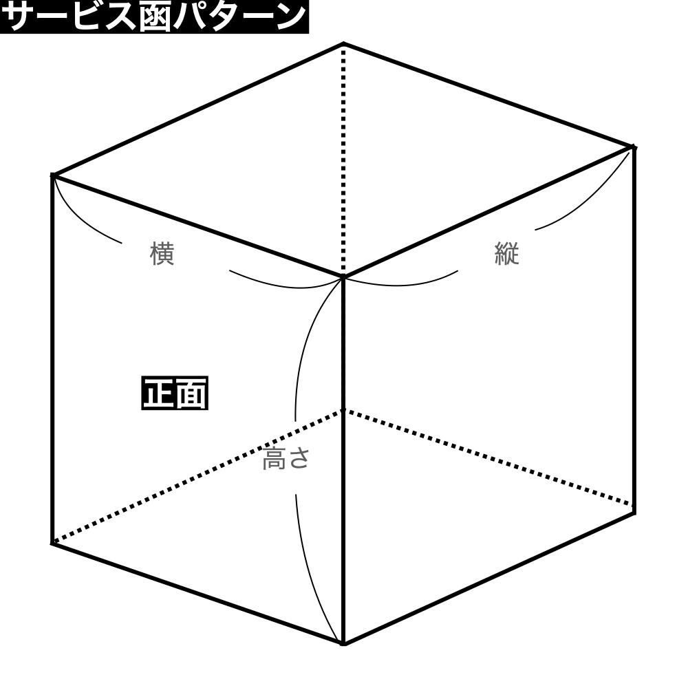 パッケージ中澤 ロックBOX105-ホワイト 7×9(210×270×105mm) 20枚