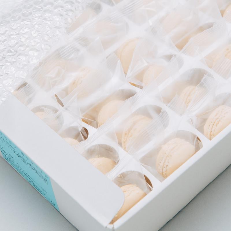 ミニマカロン 塩キャラメル 30個