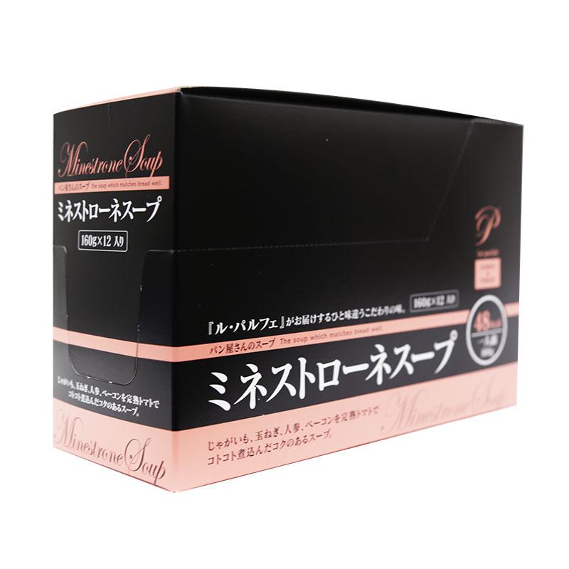 ルパルフェ ミネストローネスープ 160g×12個(常温)
