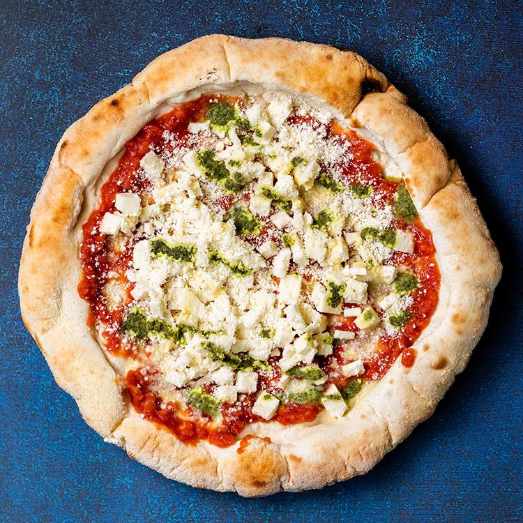 マルゲリータ(モッツァレラチーズとトマトのピザ)