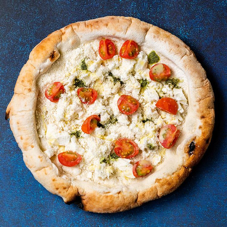 D.O.C(水牛モッツァレラチーズとフレッシュチェリートマトのピザ)