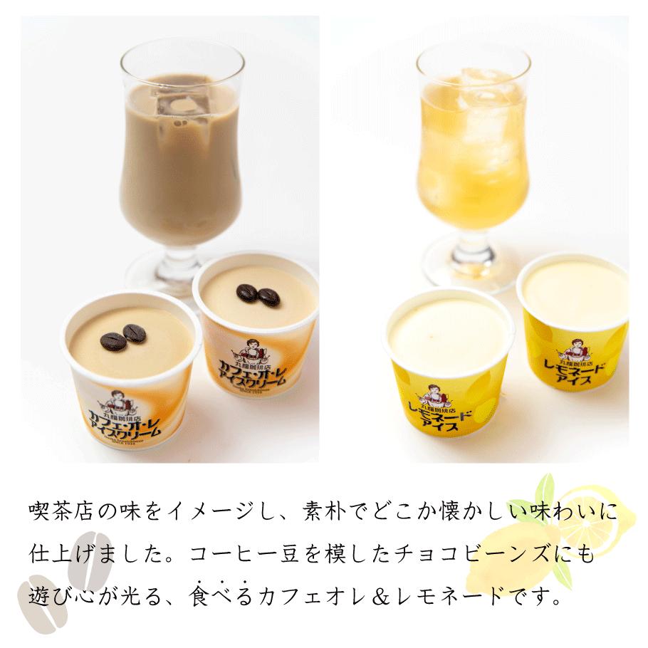 【送料無料】アイスクリーム10個セット(カフェオレ&レモネード)